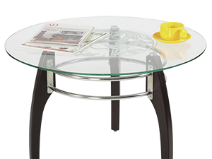 Формы и материалы столешниц из стекла